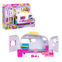 Moose: Shopkins. Happy Places Rainbow Beach - Happy Campervan