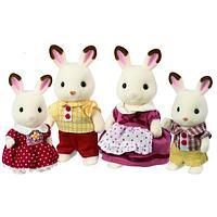 """Sylvanian Families: Набор """"Семья шоколадных кроликов"""""""