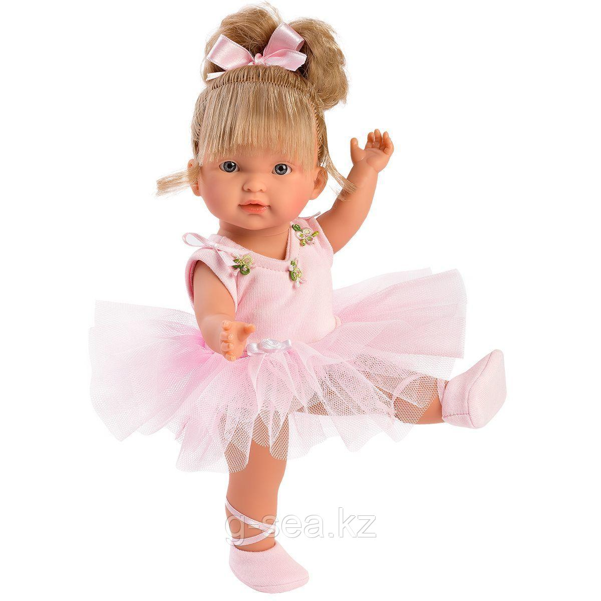 LLORENS: Кукла Валерия 28 см., блондинка балерина - фото 1