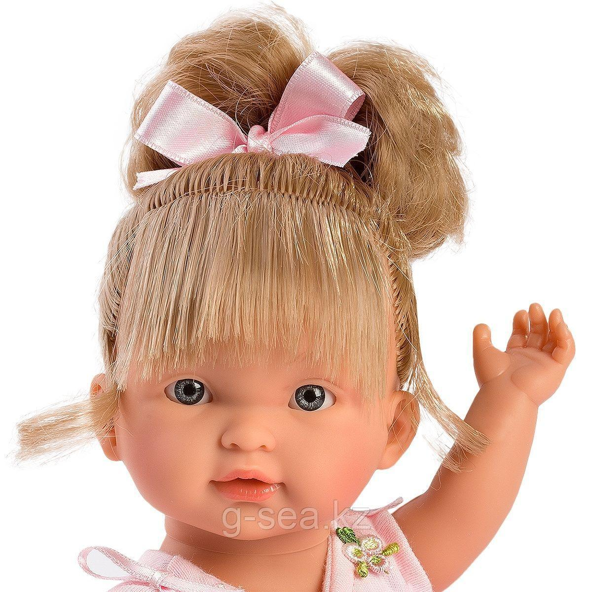 LLORENS: Кукла Валерия 28 см., блондинка балерина - фото 2