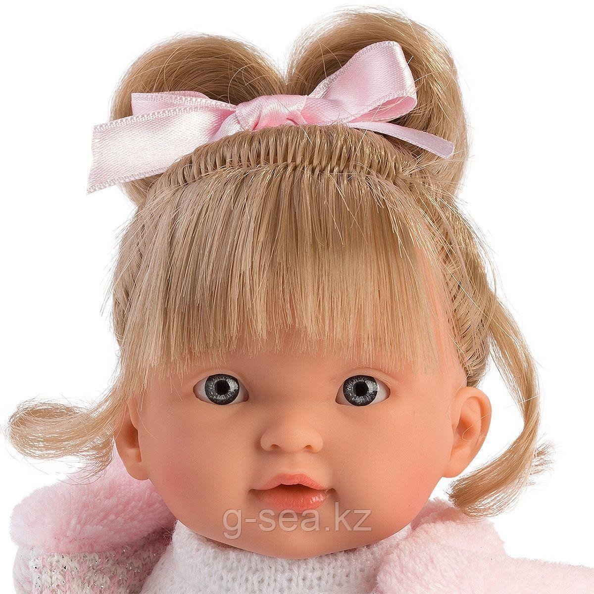 LLORENS: Кукла Валерия 28 см., блондинка в розовом костюме - фото 2
