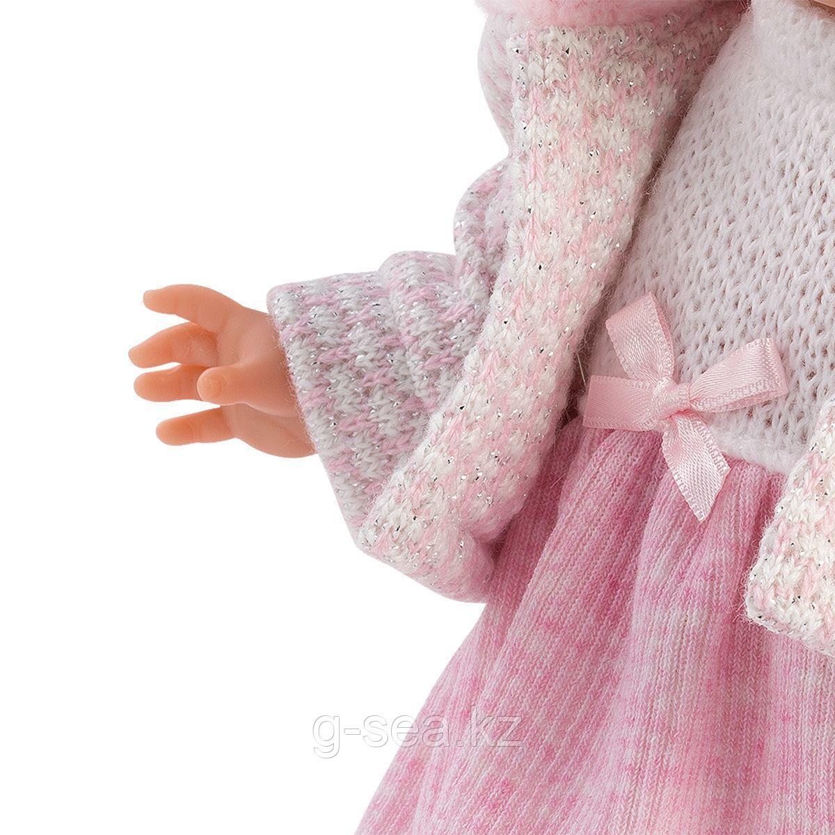 LLORENS: Кукла Валерия 28 см., блондинка в розовом костюме - фото 3