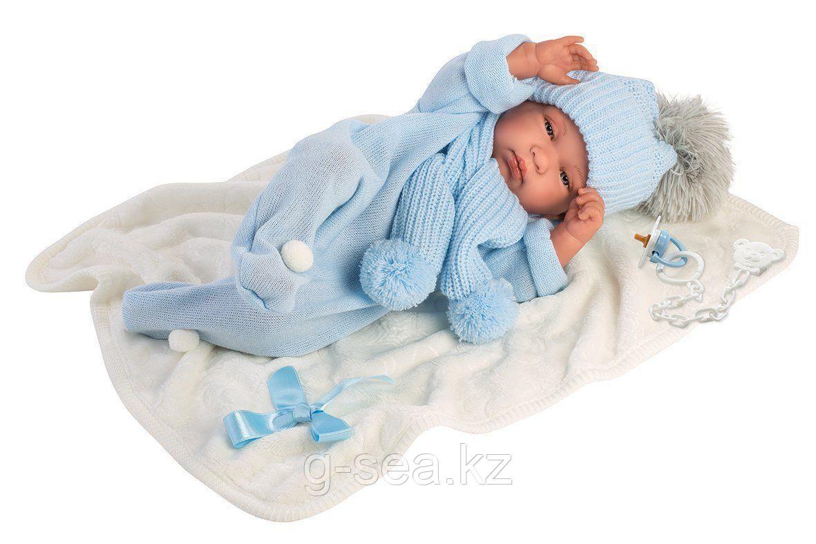 LLORENS: Кукла малыш Тино 43 см с одеялком