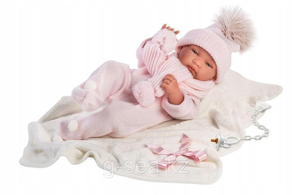 LLORENS: Кукла малышка Тина 43 см с одеялком