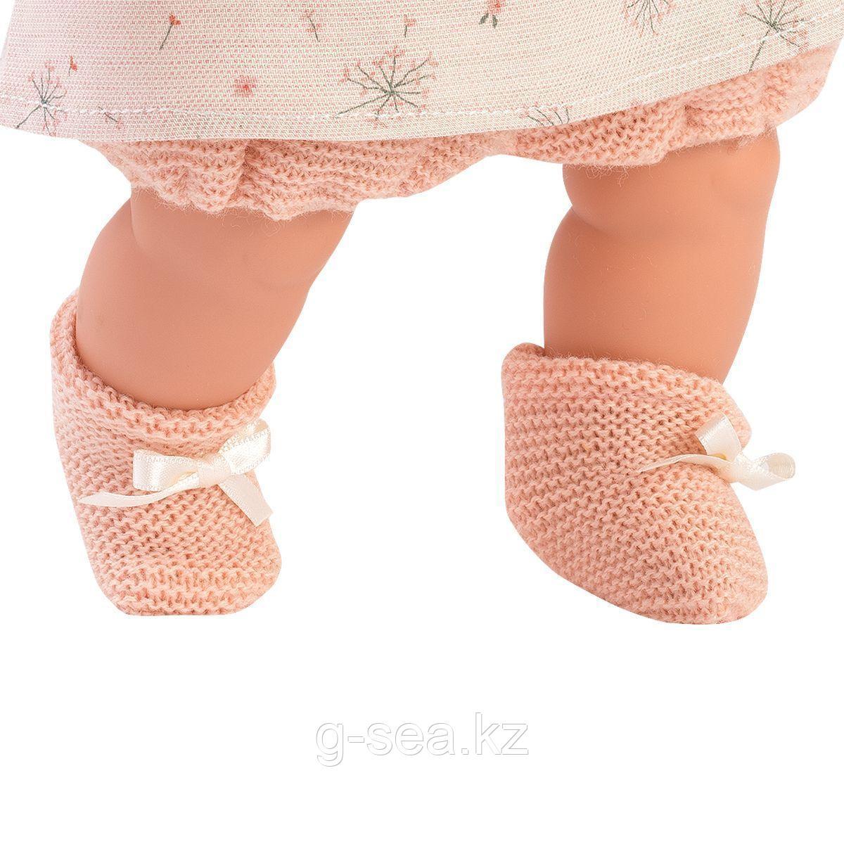 LLORENS: Кукла Рита 33 см., брюнетка в розовом жакете - фото 4