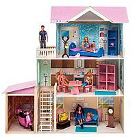 """PAREMO: Кукольный дом """"Розали Гранд"""" (с мебелью)"""