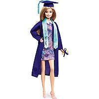 """Barbie: Коллекционные: Кукла Barbie коллекционная """"Выпускница колледжа"""" в синей мантии, фото 1"""