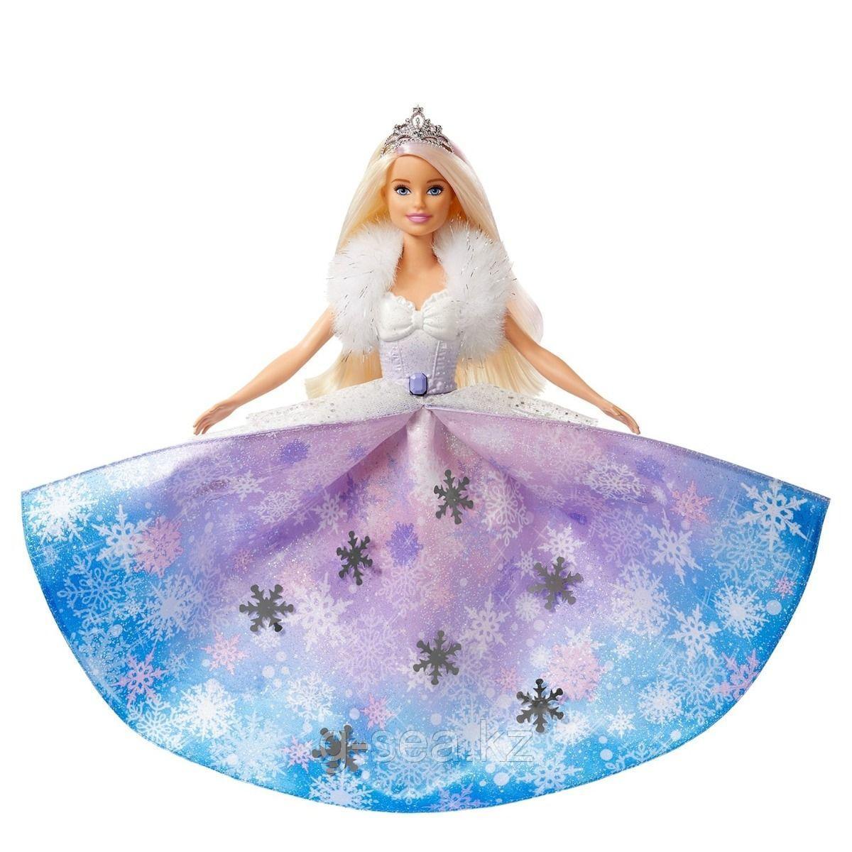 Barbie: Кукла Barbie Dreamtopia Снежная принцесса