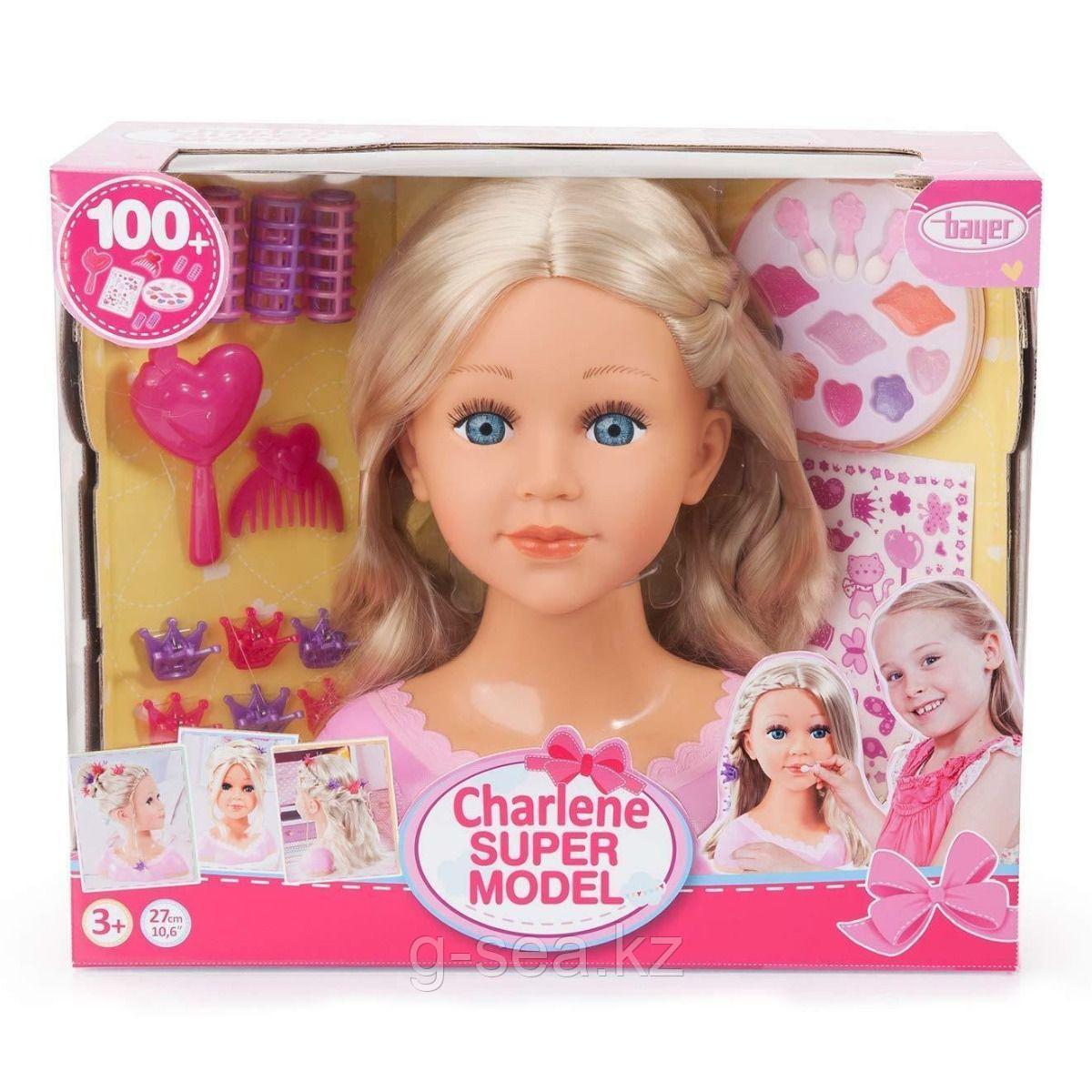 """Bayer Dolls: Игр.н-р """"Charline - супер модель"""", кудрявые волосы"""