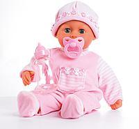 """Bayer Dolls: Игрушка пупс """"Первые звуки малыша"""", 38см"""