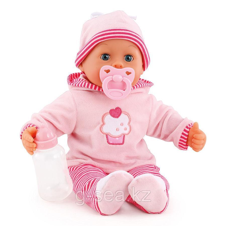 Bayer Dolls: Игрушка пупс Первые звуки малыша, 38см
