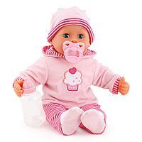 Bayer Dolls: Игрушка пупс Первые звуки малыша, 38см, фото 1