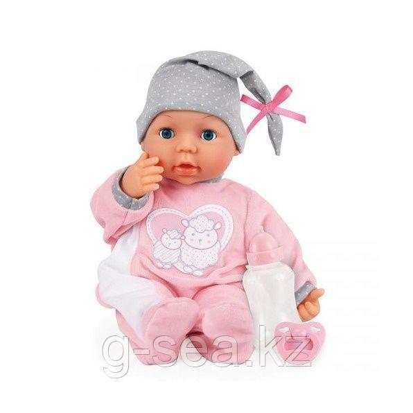 Bayer Dolls: Интерактивная кукла-пупс Piccolina, 38см, с пустышкой и бутылочкой - фото 1