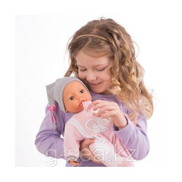 Bayer Dolls: Интерактивная кукла-пупс Piccolina, 38см, с пустышкой и бутылочкой - фото 2
