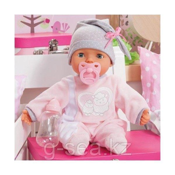 Bayer Dolls: Интерактивная кукла-пупс Piccolina, 38см, с пустышкой и бутылочкой - фото 5