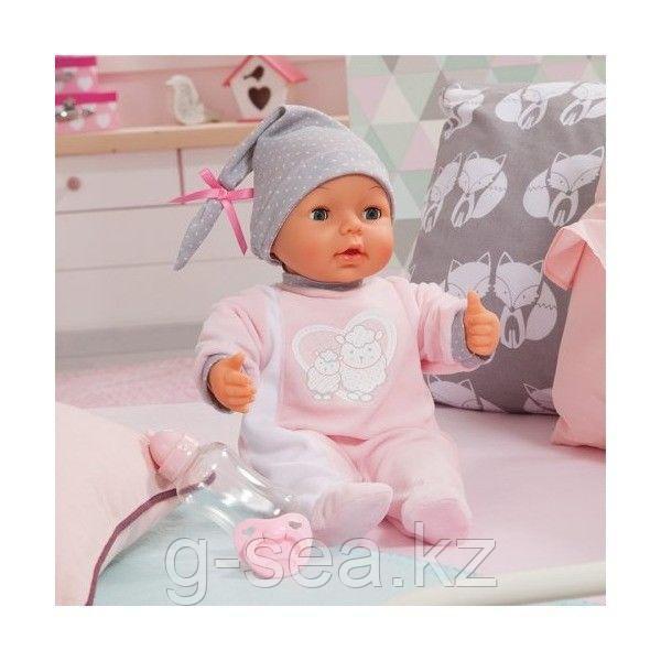 Bayer Dolls: Интерактивная кукла-пупс Piccolina, 38см, с пустышкой и бутылочкой - фото 6