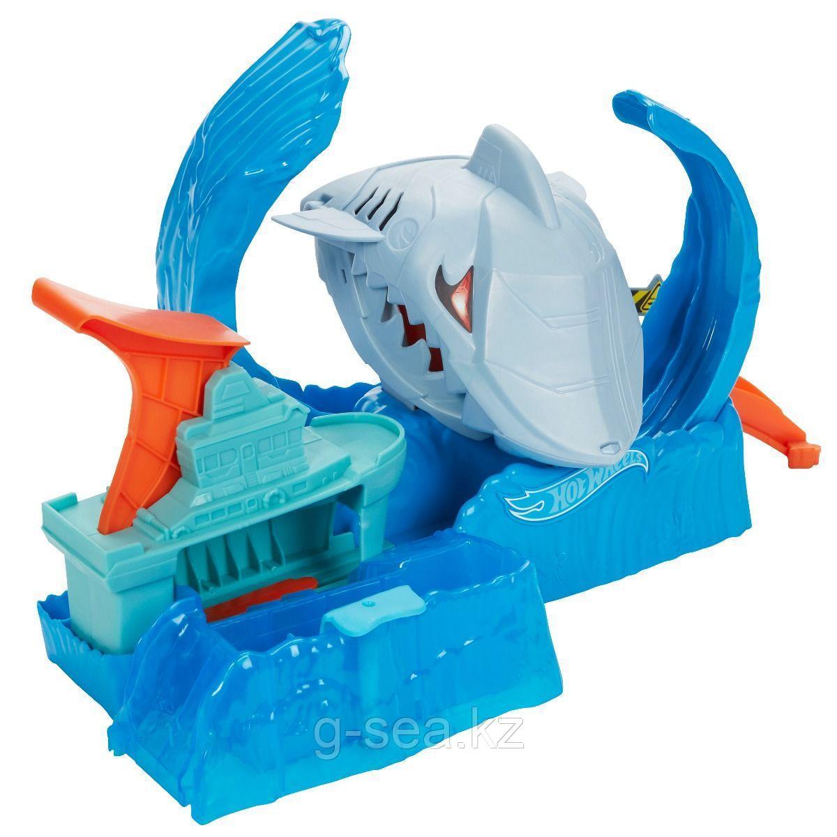 Hot Wheels: City. Игровой набор Ледяная акула