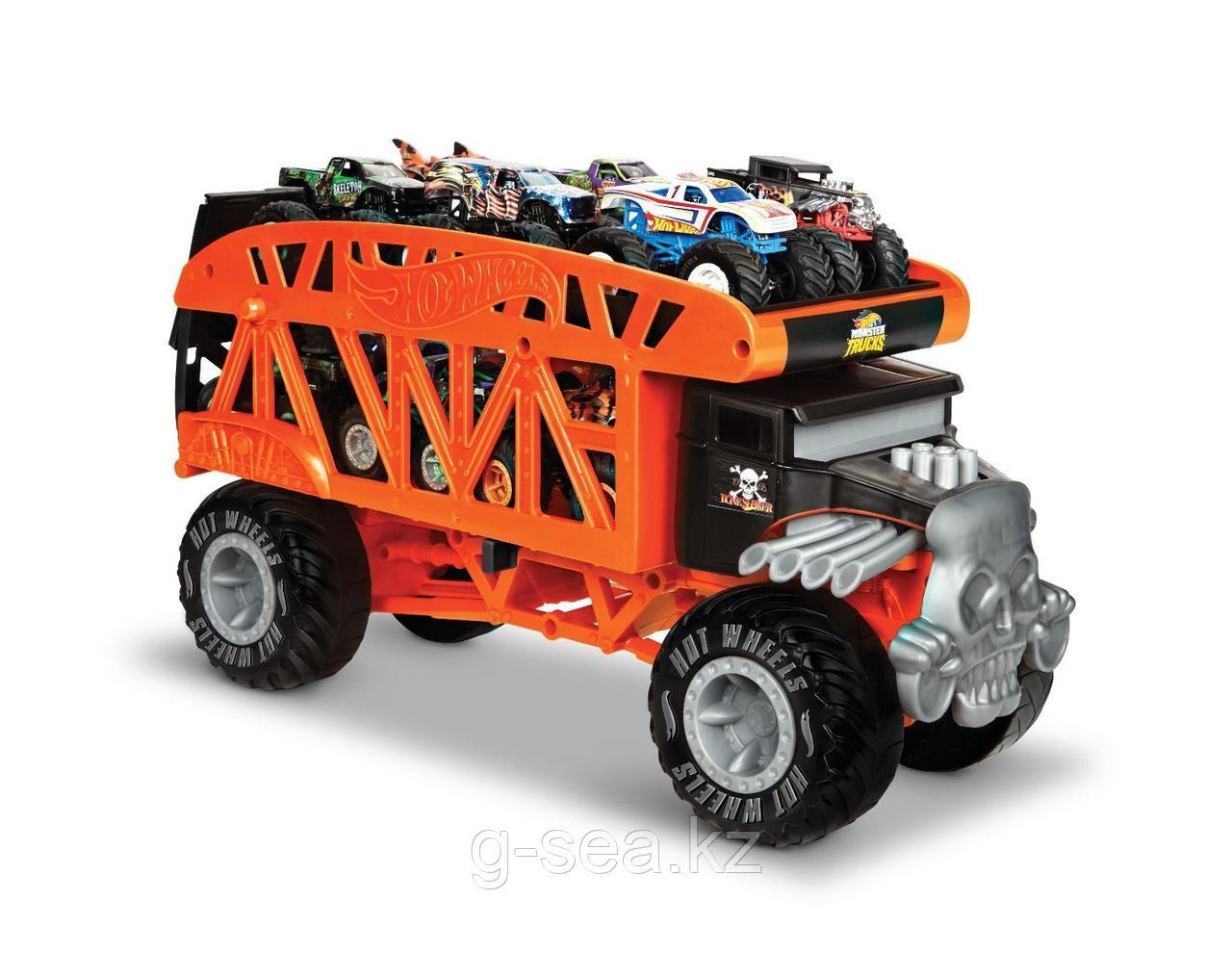 Hot Wheels: Monster Trucks. Автовоз Монстро-Транспортер