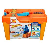 Hot Wheels: Track Builder. Игровой набор BARREL BOX, фото 1