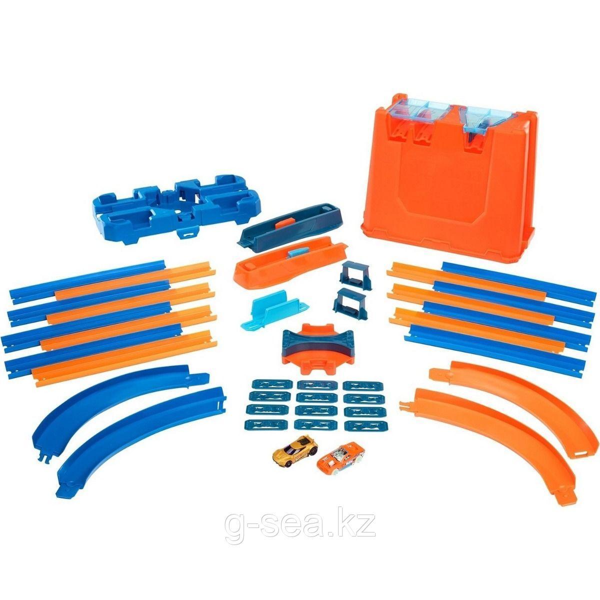 Hot Wheels: Track Builder. Игровой набор STUNT BOX