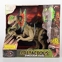 WenSheng: Игрушка динозавр Дилофозавр со светом и звуком