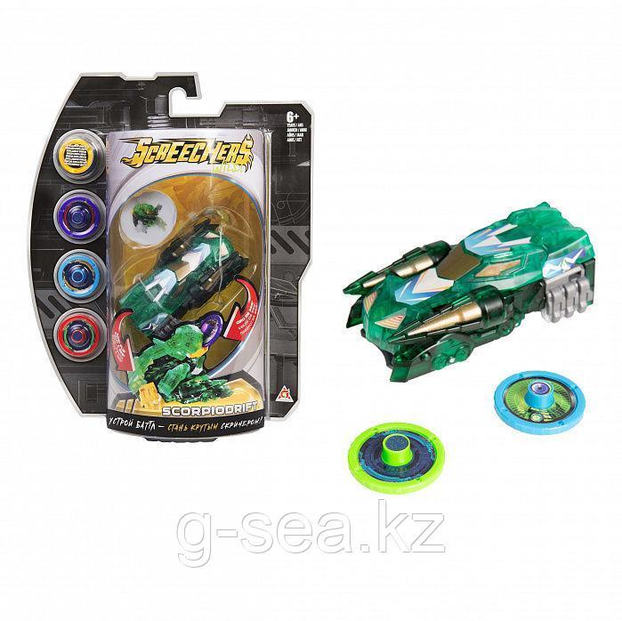 Screechers Wild: Машинка-трансформер Скорпиодрифт л3 - фото 6