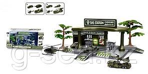 GS: Игровой набор Автозаправка Military