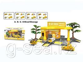 GS: Игровой набор Автозаправка Сonstruction