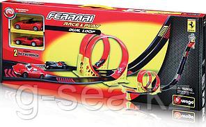 BBURAGO: Игр.н-р FERRARI с 2 машинками 1:43