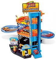 BBURAGO: Игр.н-р Гараж Street Fire + 2 машинки 1:43
