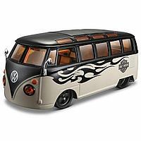 "Maisto.Harley-Davidson: 1:24 H-D Custom - Volkswagen Van ""Samba"""