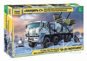 Звезда: Российский самоходный зенитный  ракетно-пушечный  комплекс Панцирь-С1