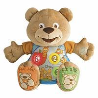 Chicco: Говорящий мишка Teddy ABC рус./англ. 6м+