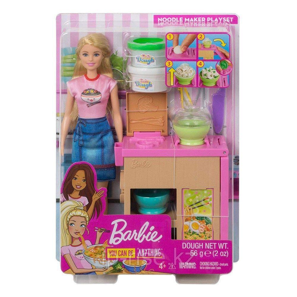 Barbie: Карьера: Кукла Barbie Домашняя паста - фото 8