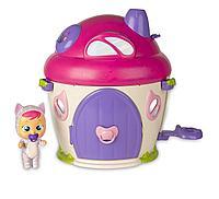 IMC toys: CRYBABIES MAGIC TEARS Игровой набор: Плачущий младенец Кэти в комплекте с домиком и аксессуара