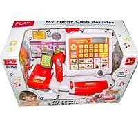 KX: Игрушка Касса с н-ром продуктов.