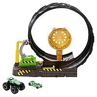 Hot Wheels: Monster Trucks. Игровой набор Мёртвая петля
