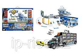 OS: Игр.н-р Полицейский участок + Трейлер 12 машинок