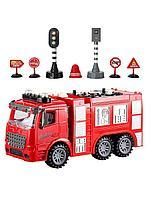 DIY: Пожарная машина с аксессуарами