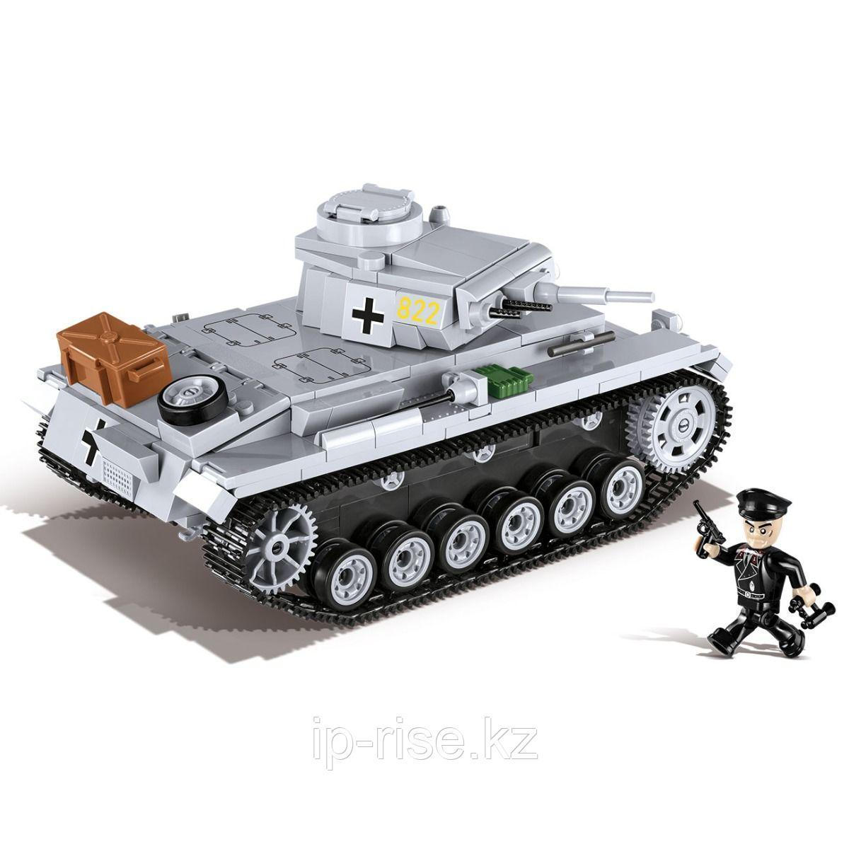 COBI: Средний танк PZKPFW III AUSF.E, 470 дет.