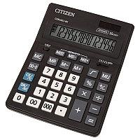Калькулятор 16 разрядов, 15.7x20см, черный Citizen