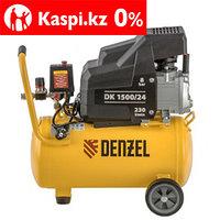 Компрессор воздушный DK1500/24, Х-PRO 1,5 кВт, 230 л/мин, 24 л Denzel, фото 1