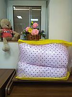 Подушка для беременных розовый/крапинка
