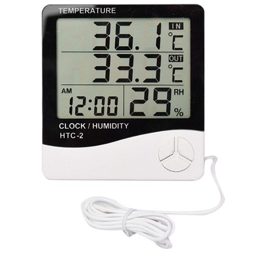 Цифровой термометр-гигрометр HTC-2