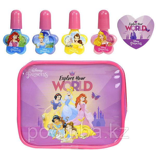 Детская декоративная косметика Princess для ногтей на блистере