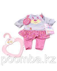 """Одежда для кукол """"Беби Бон"""" Комплект одежды для дома (на куклу 32 см, серия Baby born) - фото 1"""