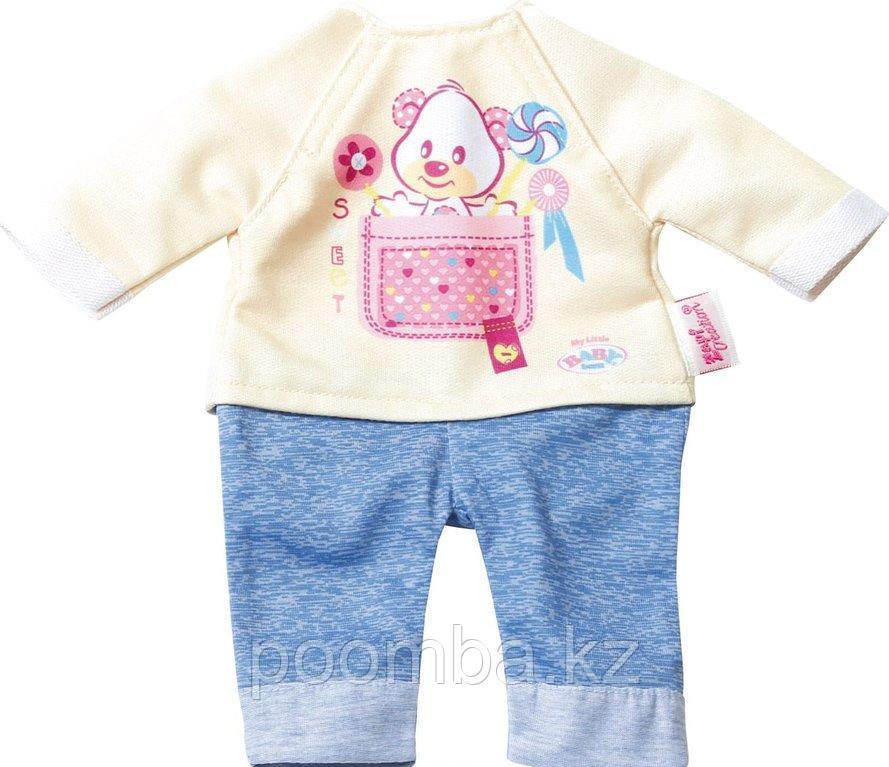 """Одежда для кукол """"Беби Бон"""" Комплект одежды для дома (на куклу 32 см, серия Baby born) - фото 2"""