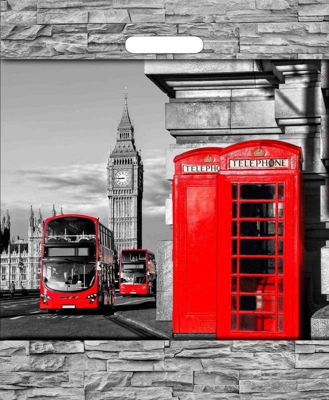 """Пакет (мешок) проруб. ПВД 45х38см, 60мкм, """"Лондон"""", 50 шт"""