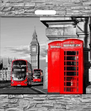 "Пакет (мешок) проруб. ПВД 45х38см, 60мкм, ""Лондон"", 50 шт, фото 2"