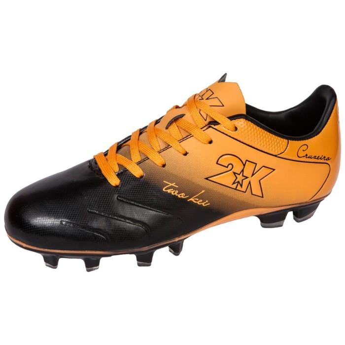 Футбольные бутсы 2K Sport Cruzeiro, black/orange, размер 43